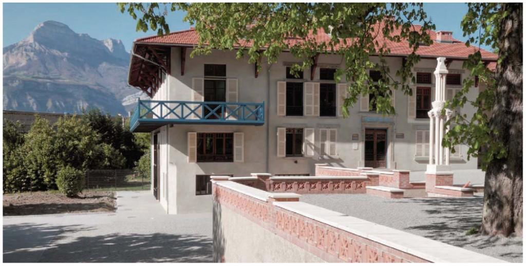 La maison Bergès après la restauration des façades en 2011. Photo E. Robert.