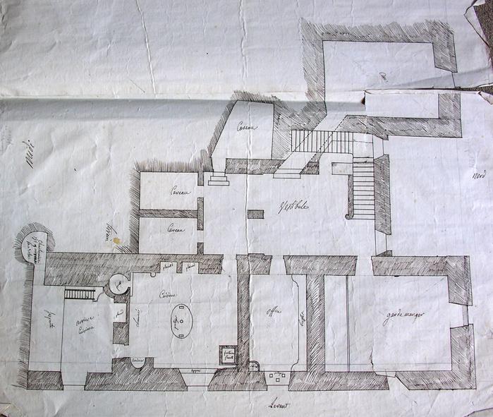 Plan Cuisine du chateau du Touvet_dcr